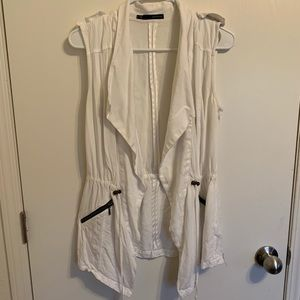 White Maurice's vest